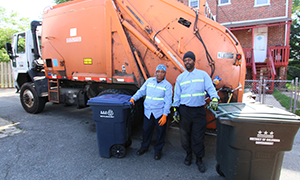Department of Public Works Trash and Recycling Haulers