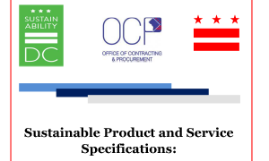 Cover of Sustainable Product and Service Specifications