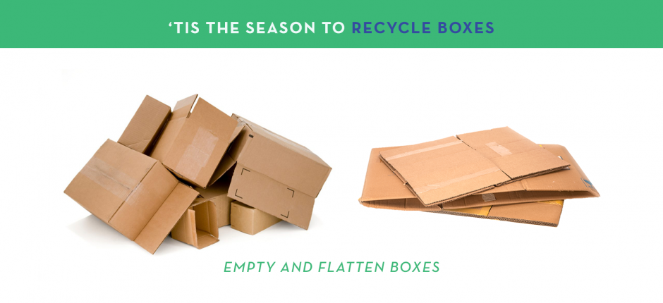 Tis the season to recycle cardboard