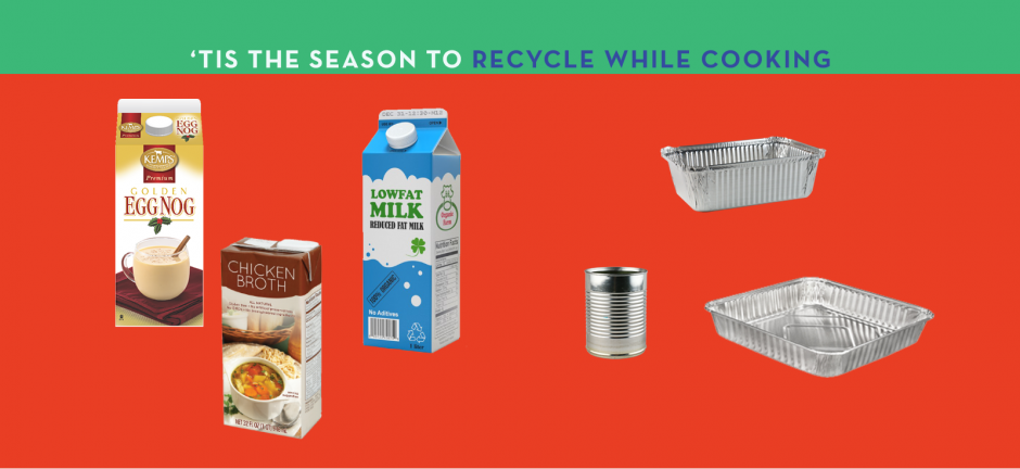 Tis the season to recycle while cooking