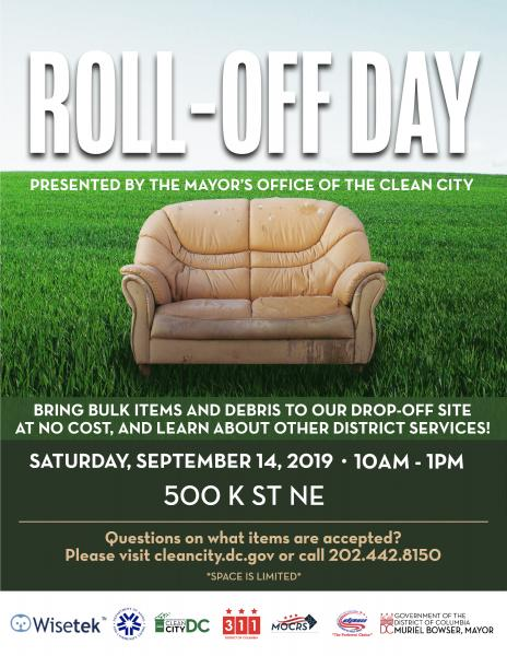 Roll Off Day Flyer