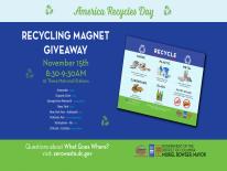 Magnet Giveaway Flyer