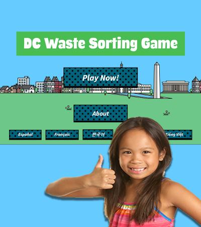 DC Waste Sorting Game
